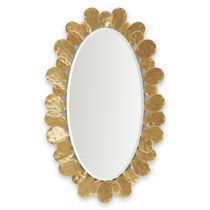 Specchio a muro / classico / ovale / in legno