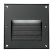 Luce da incasso a muro / LED / quadrata / da esterno