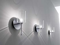 Applique moderna / in vetro / in metallo / alogena