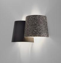 Applique moderna / in tessuto / in metallo / a incandescenza