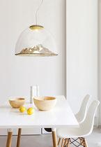 Lampada a sospensione / design originale / indoor / in vetro soffiato