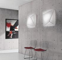 Applique moderna / rettangolare / quadrata / in tessuto