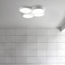 Plafoniera design originale / in metacrilato / in poliuretano / a lampada fluorescente