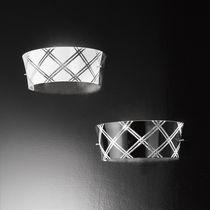 Applique moderna / in vetro / in metallo
