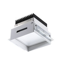 Downlight da incasso / LED / quadrato / in alluminio