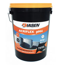 Guaina liquida impermeabilizzante in cemento / in resina acrilica / resistente agli UV / bicomponente