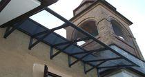 Pensilina per porte e finestre / in PMMA / in policarbonato / in alluminio