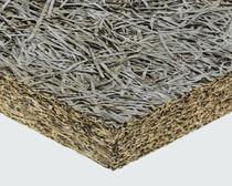 Isolante termico / termo-acustico / in lana di legno / in legno-cemento