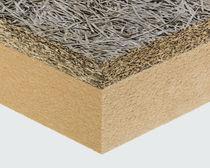 Isolante accoppiato ad alte prestazioni / isolante in lana di legno / anima in fibra di legno / monofacciale in legno