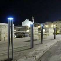 Colonna di protezione / in acciaio / fissa / luminosa