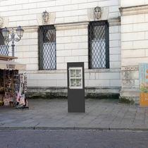 Totem pubblicitario / per spazio pubblico