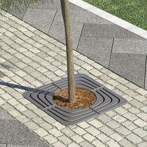 Griglia per alberi in acciaio / in acciaio galvanizzato / quadrata