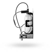 Distributore di sapone professionale / da parete / in acciaio inossidabile / elettronico