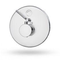 Miscelatore da doccia / da parete / in ottone / termostatico