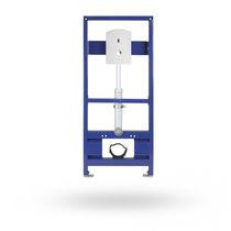 WC sospeso / in acciaio inox / elettronico / con sciacquone ad incastro
