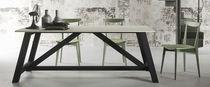 Tavolo moderno / in legno / rettangolare / ecolabel FSC