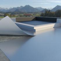 Barriera al vapore in alluminio / autoadesiva / per tetto piano