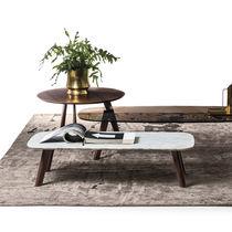 Tavolino basso moderno / in quercia / in legno massiccio / in noce americano