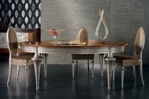 Tavolo classico / in legno / ovale
