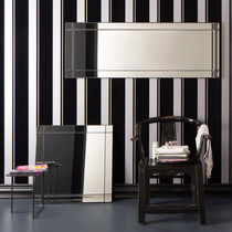 Specchio da bagno a muro / moderno / rettangolare / in metallo
