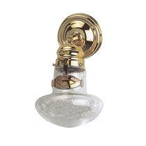 Applique classica / in metallo / in vetro / rotonda