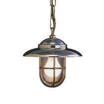 Lampada a sospensione / classica / in metallo / in vetro