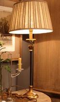 Lampada da tavolo / classica / in tessuto / da interno