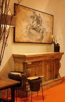 Credenza classica / in legno