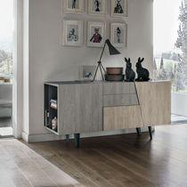 Credenza moderna / in legno / in metallo verniciato / in laminato