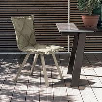 Sedia moderna / imbottita / in metallo verniciato