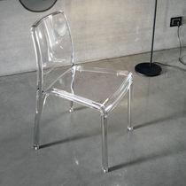 Sedia moderna / in policarbonato
