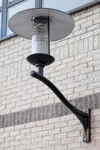 Applique moderna / da esterno / in ghisa di alluminio / HID