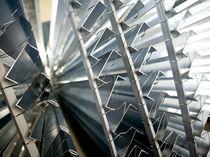 Profilo in alluminio / per facciata continua