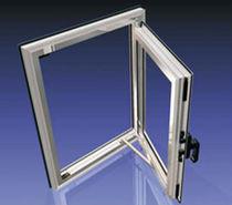 Finestra a battente / in alluminio / a taglio termico