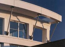 Rivestimento di facciata in metallo / liscio / in pannelli