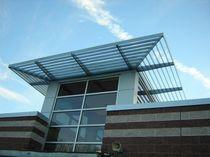 Frangisole in metallo / per facciata / orizzontale