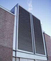 Rivestimento di facciata in alluminio / in metallo / in lamiera grecata / in pannelli
