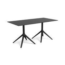 Tavolo moderno / in alluminio verniciato / in alluminio estruso / in polietilene