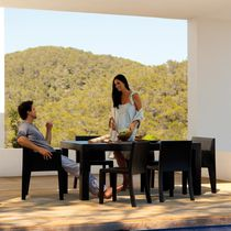 Tavolo moderno / in polietilene rotostampato / rettangolare / da giardino