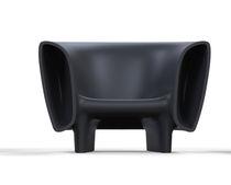 Poltrona design originale / in polietilene / luminosa / 100% riciclabile
