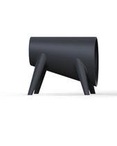 Sgabello design originale / in polietilene / 100% riciclabile / da giardino
