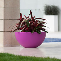 Vaso da giardino in polietilene / rotondo