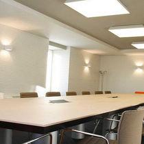 Pannello acustico per interni / in legno / aspetto legno / per ufficio