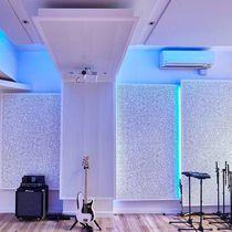 Pannello acustico per interni / in legno / colorato / professionale