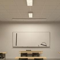 Luce sporgente / sospesa / fluorescente / LED
