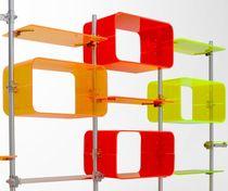 Scaffale modulare / design originale / in plastica