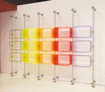 Scaffalatura standard / per negozio / in alluminio