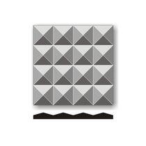 Pannello acustico a muro / in plastica / decorativo / professionale