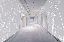 Rivestimento murale in poliestere / in PVC / professionale / con motivo stampato