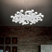 Lampadario design originale / in metallo / LED
